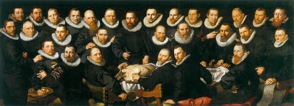 The anatomy lesson of Dr. Sebastiaen Egbertsz